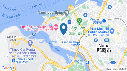 TISSAGE HOTEL Naha by NEST Map