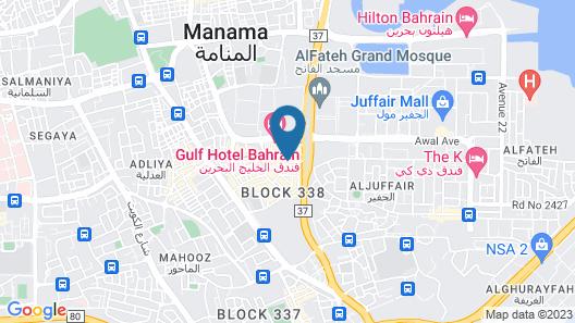 Gulf Executive Residence Map