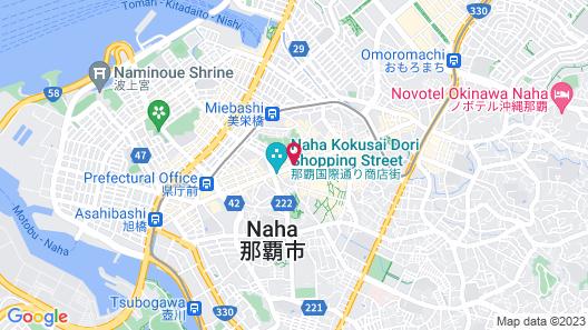 Hotel JAL City Naha Map