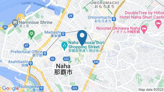 Hotel Palm Royal Naha Kokusai Street Map