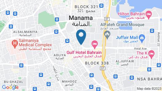 Ramada by Wyndham Bahrain Map
