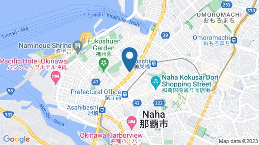 APA Hotel Naha Map