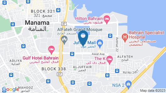 Grand Safir Hotel Map