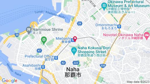 HOTEL STRATA NAHA Map