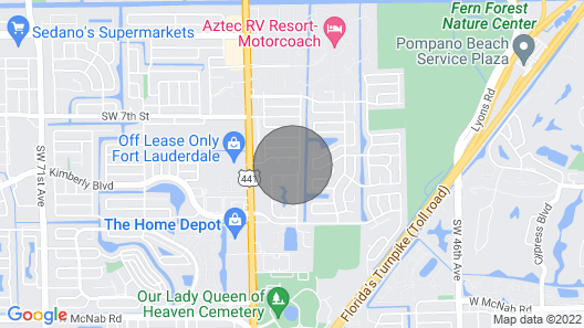New! Updated Home w/ Pool <9 Mi to Pompano Beach! Map