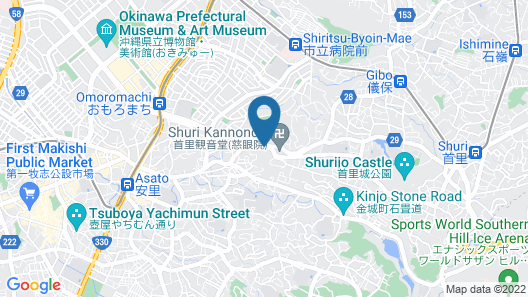 Novotel Okinawa Naha Map