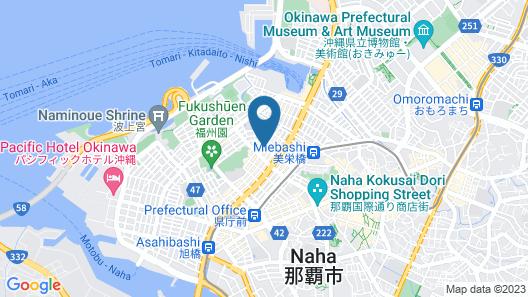 Green Rich Hotel Naha (Hotel & Cabin) Map