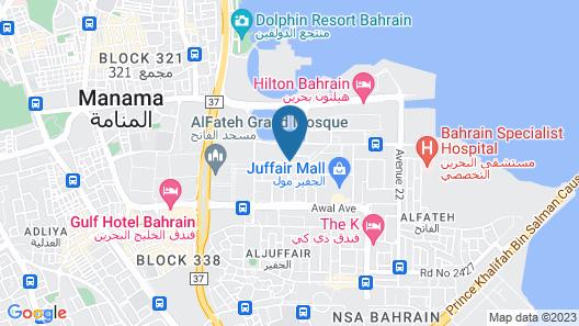 Pars International Hotel Map