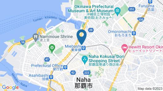 Okinawa Sora House - Hostel Map