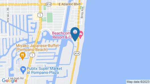 Club Wyndham Santa Barbara Map