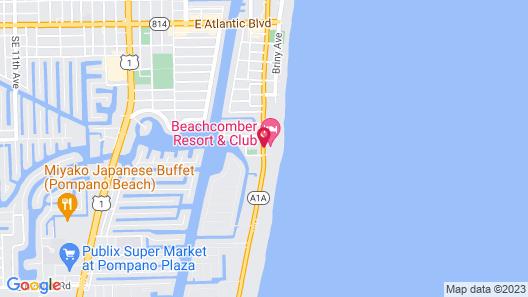 Beachcomber Resort & Club Map