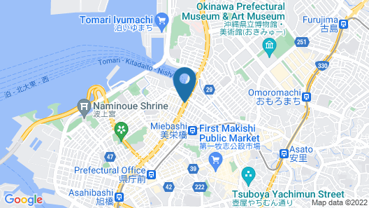 HOTEL AQUA CITTA NAHA by WBF Map
