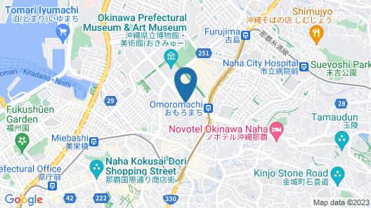 Daiwa Roynet Hotel Naha-Omoromachi Map