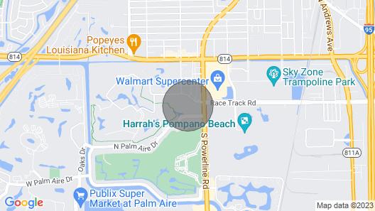 Superbowl 2020 in Florida Map