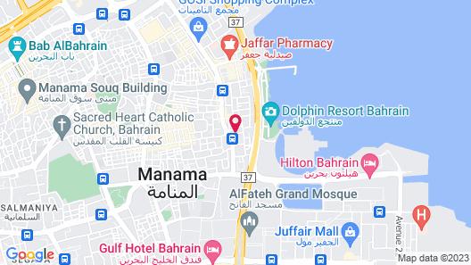 Monroe Hotel & Suites Map