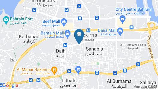 Al Raya Suites Map