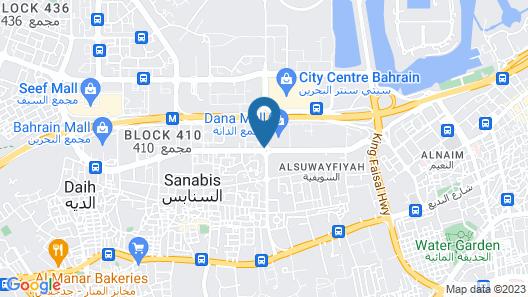 Ibis Seef Manama Map