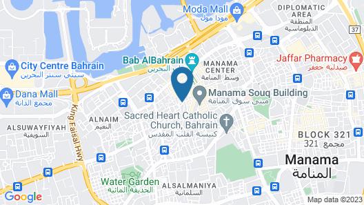 Sahara Hotel Map