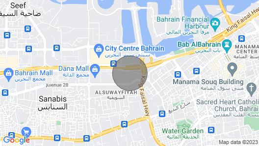 Abraj Al Lulu Living is the Best in all of Bahrain Map