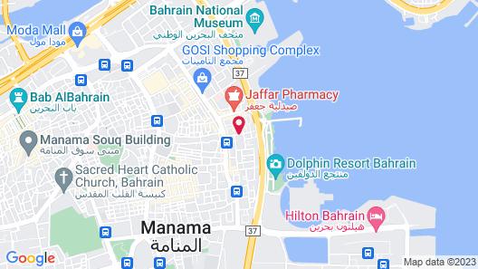 Baisan International Hotel Bahrain Map