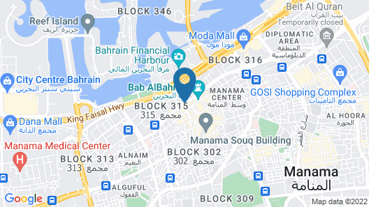 City Point Hotel Map