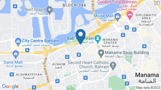 Gulf Gate Hotel Map