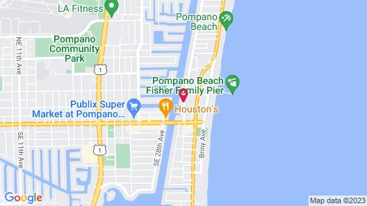 Sands Harbor Resort and Marina Map