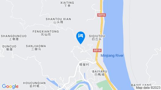 Ramada Plaza Fuzhou South Map