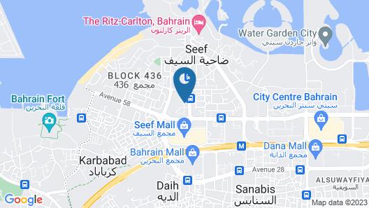 Swiss-Belhotel Seef Bahrain Map