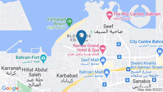 Hani Suites And Spa Map