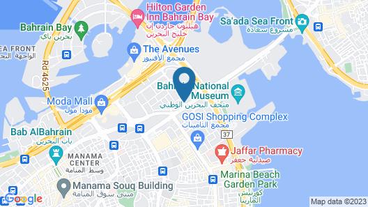 The Diplomat Radisson BLU Hotel, Residence & Spa Map