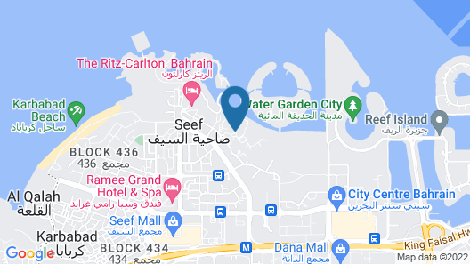 Jumeirah Royal Saray Bahrain Map