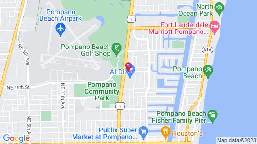 Super 8 by Wyndham Pompano Beach Map
