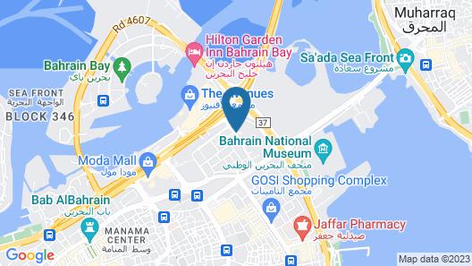 Crowne Plaza Bahrain, an IHG Hotel Map