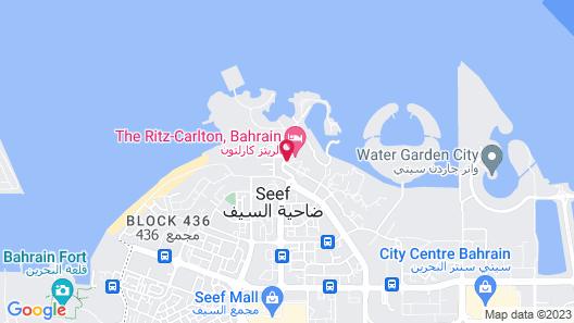 The Ritz-Carlton, Bahrain Map