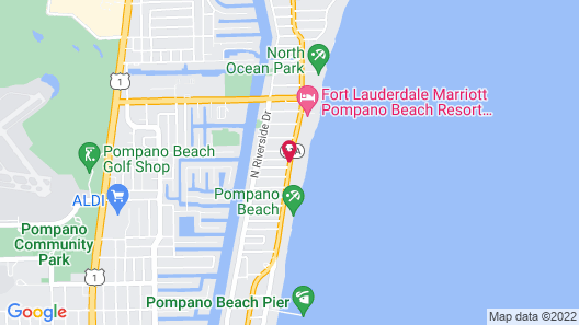 The Palms On Ocean Map