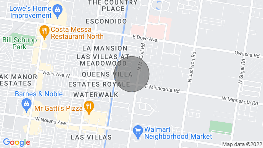DHR Executive Home.  Map