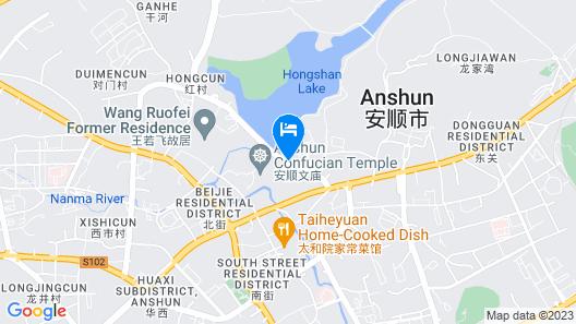 DoubleTree by Hilton Hotel Anshun Map