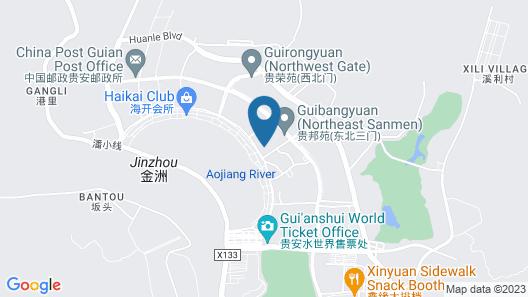 Fuzhou Gui'an Empark Grand Hotel Map