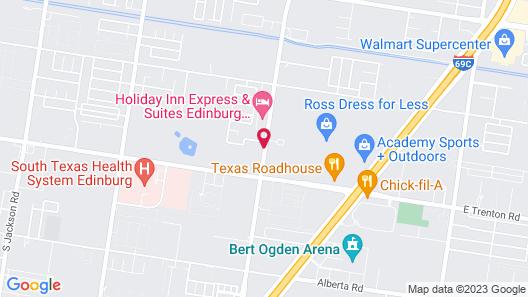 Comfort Inn Edinburg South Map