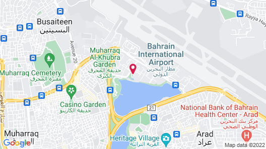 Movenpick Hotel Bahrain Map