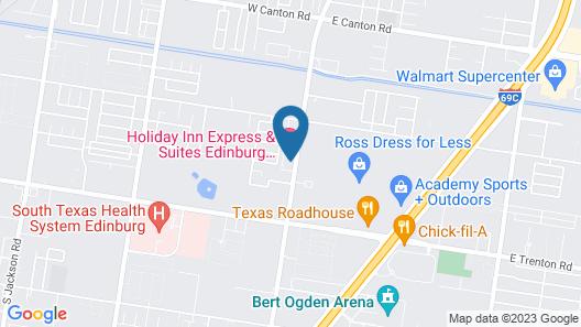 Holiday Inn Express & Suites Edinburg-McAllen Area, an IHG Hotel Map