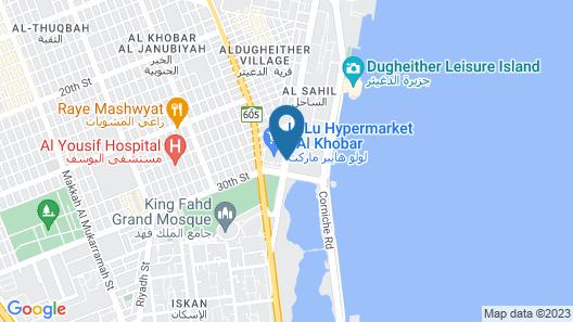 Golden Tulip Al Khobar Map