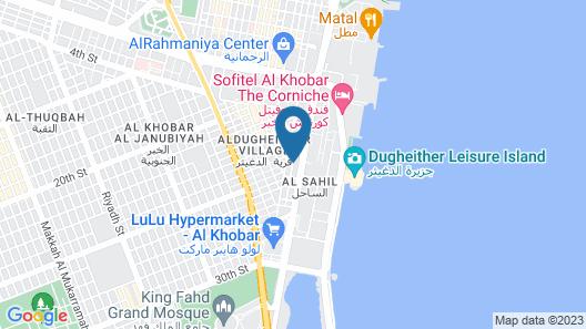 Normas Hotel Map