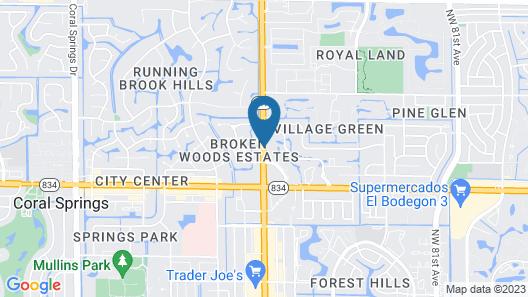 La Quinta Inn & Suites by Wyndham Coral Springs Univ Dr Map