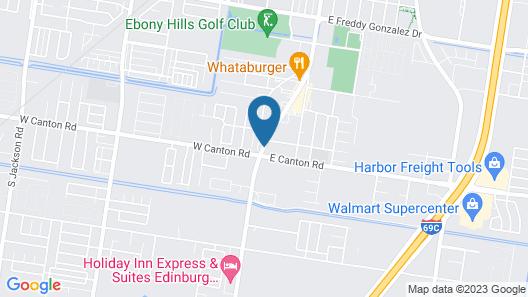 Best Western Plus Edinburg Inn & Suites Map