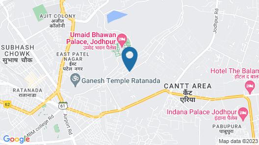 Apnayt Villa Map