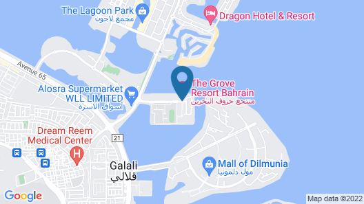 The Grove Resort Bahrain Map
