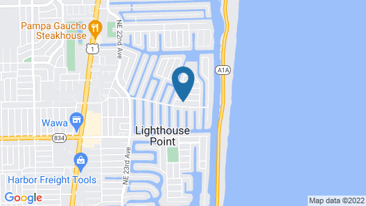Beautiful Home in Lighthouse Point Map