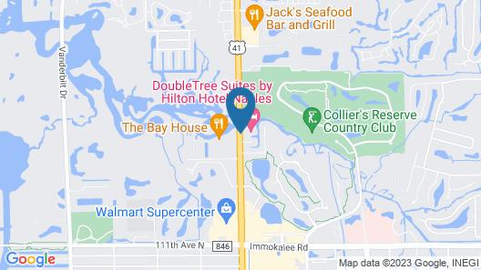 DoubleTree Suites by Hilton Naples Map
